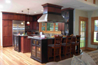 Kitchen Remodeling - Wooden Island